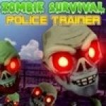 Выживание среди зомби (Zombie Survival Police Trainer) (онлайн)